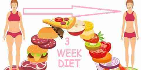 diet plan for 3 weeks to lose weight