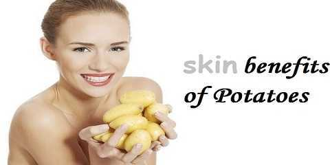 potato benefits for skin