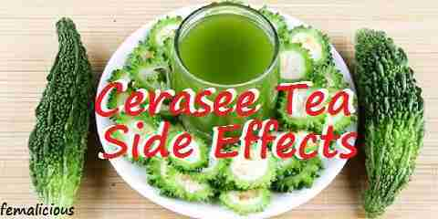 cerasee tea side effects