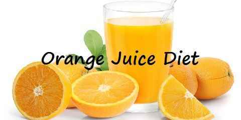 orange juice diet fastest way to lose weight by juice fasting