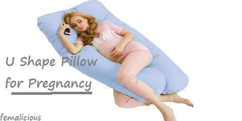 pregnancy sleeping pillow position