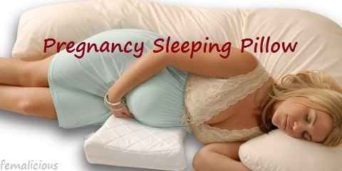 different types of pregnancy sleeping pillows