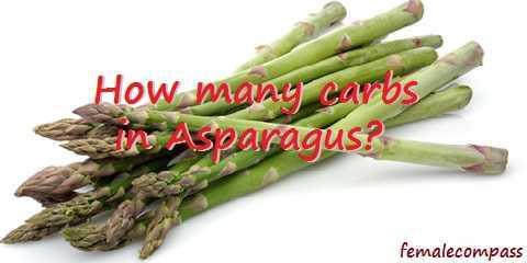 how many carbs in asparagus