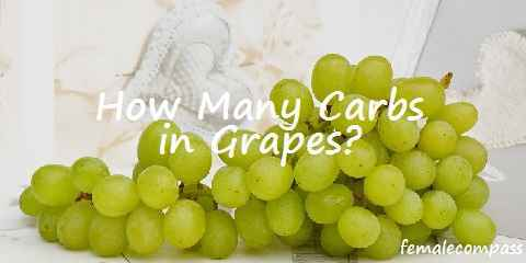how many carbs in grapes