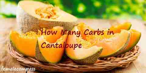 how many carbs in cantaloupe