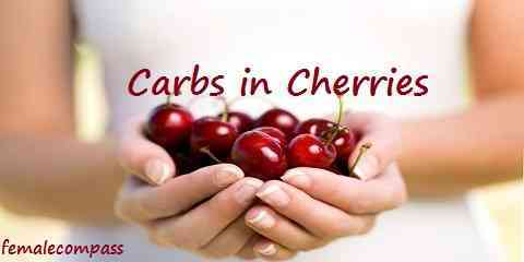 how many carbs in cherries